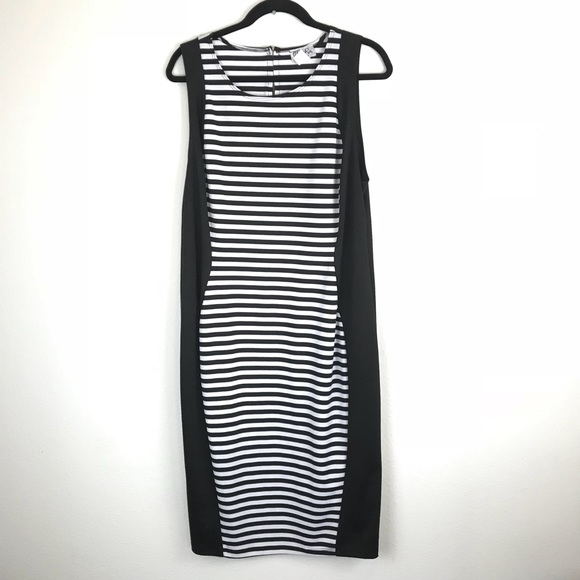 urban rose Dresses | Plus Size Black White Stripes Dress 2x | Poshmark